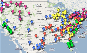 Map Shows The Most Popular MLB Team In Every US County Business - Map of baseball teams in us